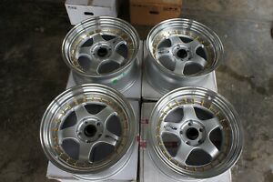 For Cl1 240sx 180sx Rx7 Fd3s Z16a Dc5 Jdm 17 114 3x5 5spoke Style Wheels Rim