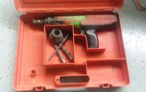 Hilti Dx36m Semi automatic Powder actuated Fastening Tool with Extras And Case