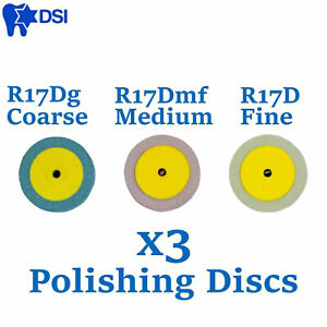 X3 Dental Eve Diamond Polishing Discs Disks Ceramic Choose Grit Polish Diapol