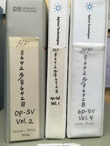 Agilent Hp 8642b Synthesized Signal Generator Manuals