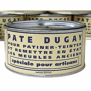 Pate Dugay Furniture Wax Made In France Noir Black