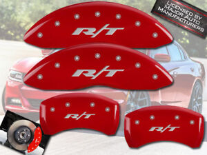 2011 2018 Dodge Charger R T Front Rear Red Mgp Brake Disc Caliper Covers Br5