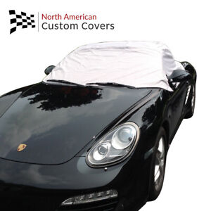 Rp114g Porsche Boxster 987 Convertible Soft Top Roof Half Cover 2005 To 2012