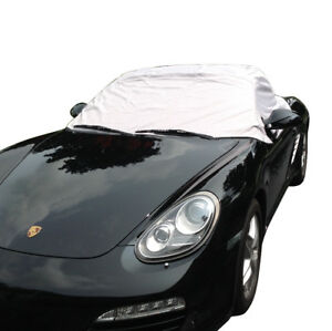 114g Porsche Boxster 987 Convertible Soft Top Roof Half Cover 2005 To 2012