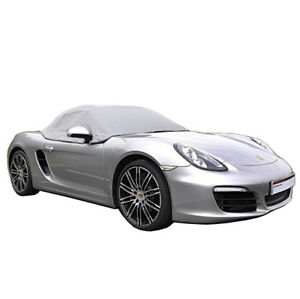 288g Porsche Boxster 981 Convertible Soft Top Roof Half Cover 2012 To 2016