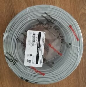 Lot Of 2 22 4 22 Gauge 4 Conductor Solid Cable Wire Gray Honeywell 500 Feet