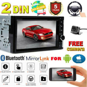 Fit 01 02 03 04 Ford Mustang Bluetooth Touchscreen Dvd Video Cd Car Radio Stereo