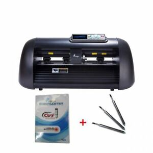 12 Vicsign Vinyl Cutter With Ccd Camera Full Auto Contour Cut Function