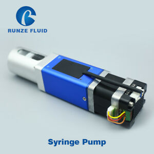 20ml Double Channel Rs232 Communication Easy Control Syringe Pump Programmable