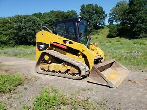 2009 Caterpillar 279c Compact Rubber Track Multi Terrain Skid Steer Loader Cat