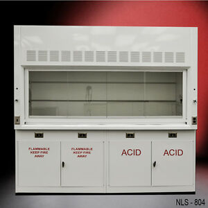 _new Chemical 8 Laboratory Fume Hood New W Flammable Acid Cabinets New