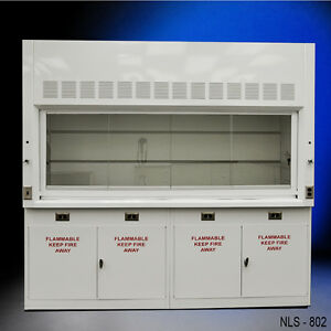 _ Lab Equipment New 8 Laboratory Chemical Fume Hood With Flammable Cabinets