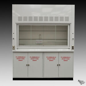 6 New Laboratory Chemical Fume Hood Flammable Cabinets Lab Ind Extraction