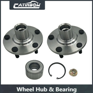 Pair Wheel Hub Bearing Assembly Front For Toyota Avalon Camry Es300 Sienna Kit