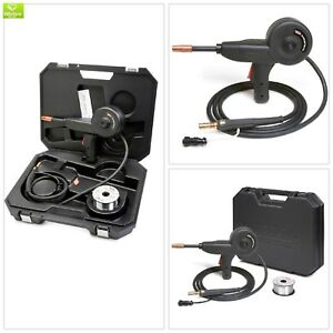 Electric Welding Spool Gun Magnum Aluminum Wire Portable Cushioned Case Welder