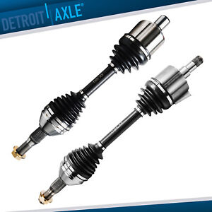 Both 2 Front Driver And Passenger Axle Drive Shaft For Chevy Buick Pontiac