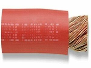 4 0ga Red Welding Cable 100 Feet reel 2109 30 Stranding Tpe