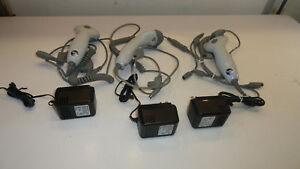 Lot Of 3 Metrologic Ms9540 Voyager Barcode Scanner Laser Reader Usb Honeywell