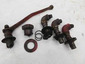 Farmall M Hydraulic Pipes Cap And Control Arm Antique Tractor