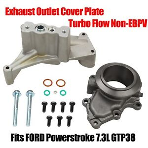 Fits Ford Powerstroke 7 3l Gtp38 Turbo Flow Non Ebpv Exhaust Outlet Cover Plate