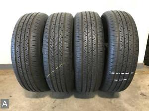 4x P205 70r16 Continental Contiprocontact 10 32nds Used Tires