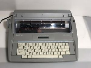 Brother Sx 4000 Electronic Typewriter tested Working