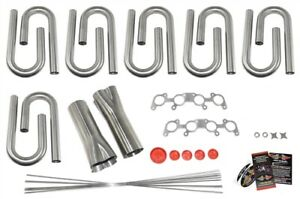 Ford 5 0l Coyote Custom Header Build Kit 1 7 8 Primary 3 Collector 304 Ss