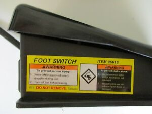 Foot Switch Ac Item 96618
