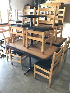 Good Used Restaurant Table And Chairs For Sale Make A Good Offer