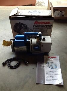 Robinair Hvac Vacuum Pump Number Of Stages 2 115 V 1 2 Hp 15401