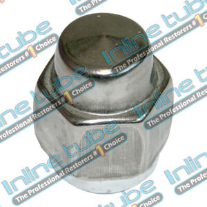 1969 77 Gm Pontiac Olds Chevy Buick Stainless Steel Capped Rally Wheel Lug Nut