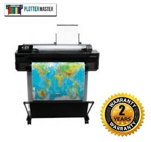Hp T520 24 in Plotter Printer Wide Format Blue Print 2 Year Warranty T1200 T520