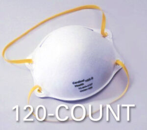 Cardinal N95 Healthcare Particulate Respirator Safety Mask small 120 count N95s