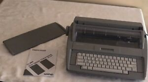 Brother Sx 4000 Electronic Typewriter With Lcd Display Owner s Manual