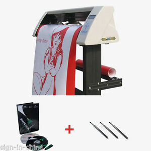 High Quality 40 Redsail Vinyl Sign Cutter With Contour Cut Function