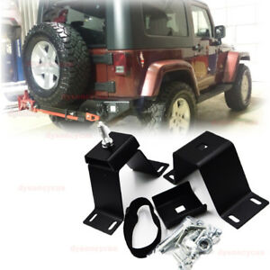 Fit Jeep Wrangler Yj Tj Car Pickup Hi lift Jack Underback Bumper Rear Door Mount