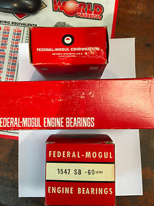 Minneapolis Moline Main Bearings 4164m 60 M602 And M670 Gas Hue He Fe