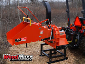 Woodmaxx Wm 8m Pto Wood Chipper With Automatic Feed