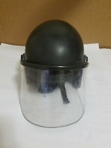 Riot Helmet S1611 600 Super Seer Crowd Control Tactical Police Pre owned