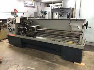 Clausing Colchester Geared Head Straight Bed Engine Lathe 17 X 80