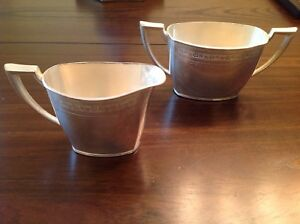 Vintage Tangier By Community Silver Plate Gilt Interior Baby Cup Circa 1969