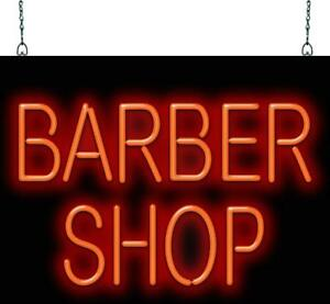 Barber Shop Neon Sign Jantec 3 Sizes Hair Cut Shave Free Shipping