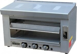 Omega Equipment Heavy Duty Gas Salamander Nat Gas Broiler