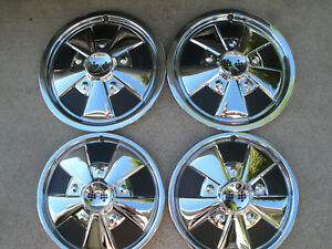 4 Aftermarket Hubcaps 2 14 2 15 Volkswagon Style