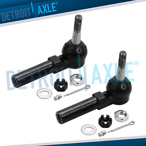 Front Outer Tie Rod End Links Set For Chevy Olds Pontiac Buick Century Impala