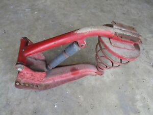 Ih Farmall M Sm Mta Md H Sh Monroe Seat Frame Assembly Antique Tractor