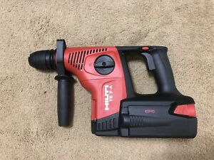Hilti Te 7 a 36 Kit 36v Li ion Rotary Hammer Drill W case Charger And Bit
