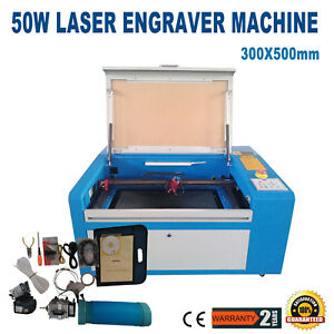Usb Port 50w Co2 Laser Engraver Cutter Machine Usb Up Down Table Trocen Control