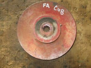 Pto Belt Drive Pulley For Farmall Cub 9 Inch Diameter