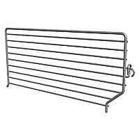 Lozier Bfd Wire Binning Divider 3 In L X 16 In D Chrome Plated
